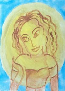 10x13 acrylic canvas $3