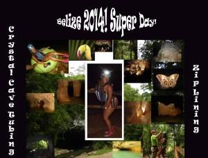 belize maya collage