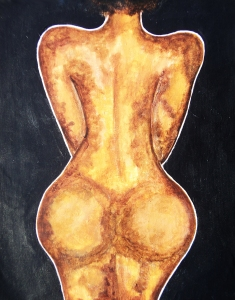 african american nude woman butt